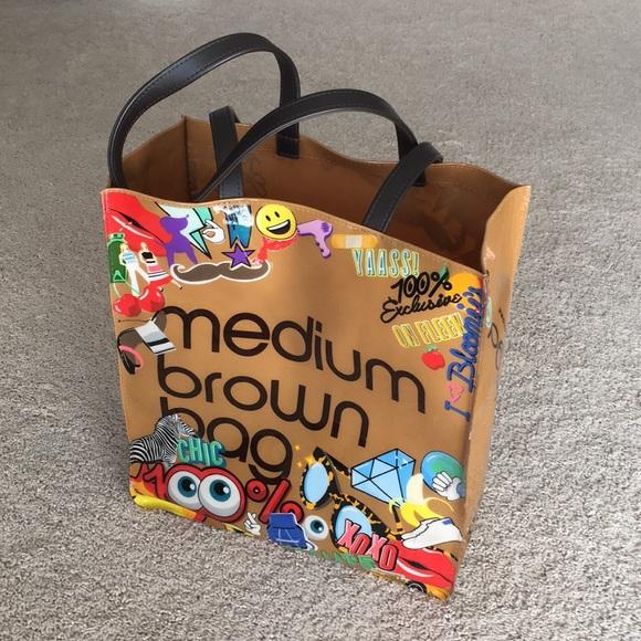 8a20e27104 Bloomingdale's Bags | Bloomingdales Medium Brown Bag | Poshmark